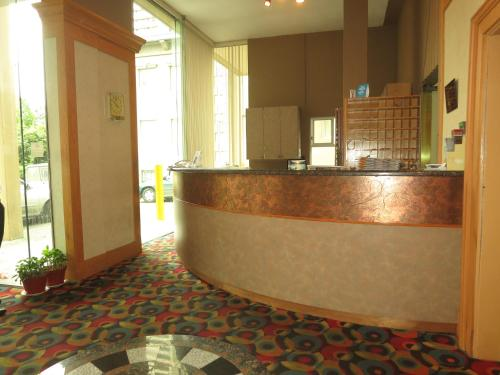 The lobby or reception area at Tropicana Suite Hotel