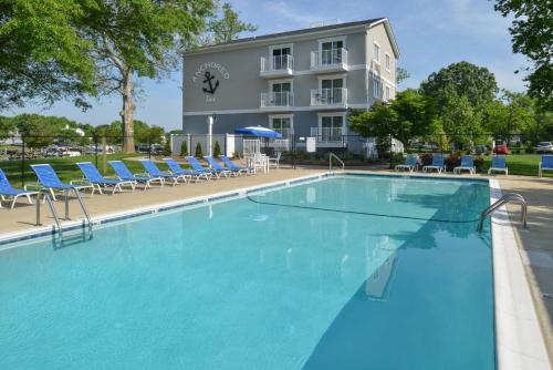 The swimming pool at or near Anchored Inn at Hidden Harbor