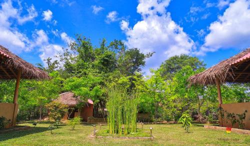 Jardin de l'établissement Niyagala Lodge Sigiriya