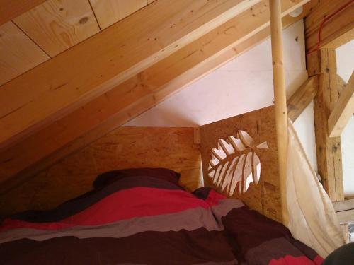 Un ou plusieurs lits dans un hébergement de l'établissement Elément-Terre