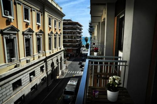 A balcony or terrace at Casa Castagna