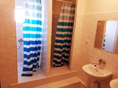 Koupelna v ubytování Ubytovna Pod Mostem