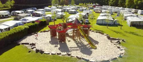 A bird's-eye view of Camping Benelux