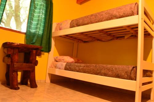A bunk bed or bunk beds in a room at Hostel Kooch