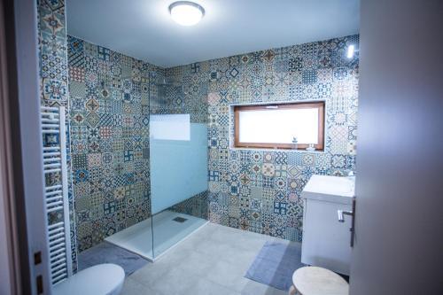 A bathroom at Cap Canche