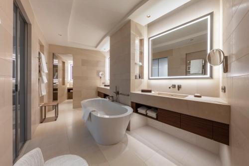 A bathroom at The Fontenay
