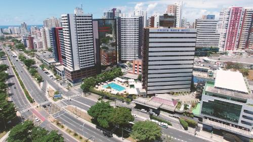 A bird's-eye view of Fiesta Bahia Hotel