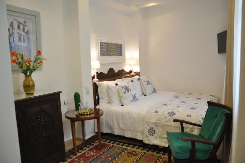 Cama o camas de una habitación en Riad Cherifa