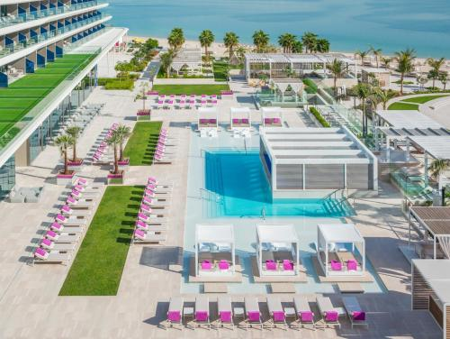 A view of the pool at W Dubai - The Palm or nearby
