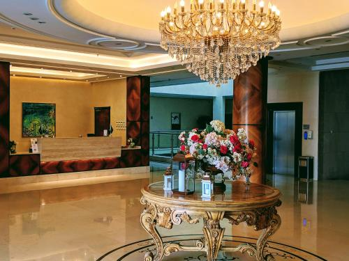 O saguão ou recepção de Mandarin Hotel Apartments