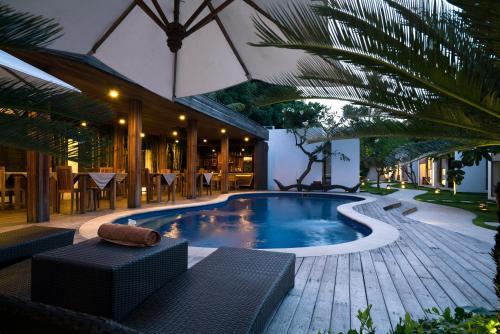 The swimming pool at or near Villa Nero