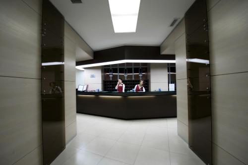 The lobby or reception area at Park Hotel City