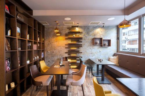 Лаундж или бар в Le Marc Guest house
