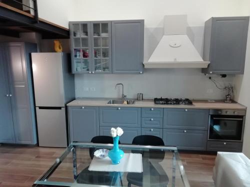 A kitchen or kitchenette at Casa Masuccio
