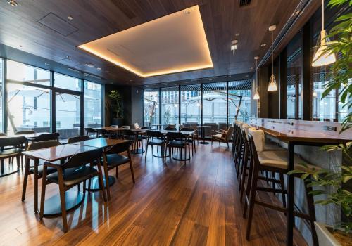 A restaurant or other place to eat at Daiwa Roynet Hotel Nishi-Shinjuku