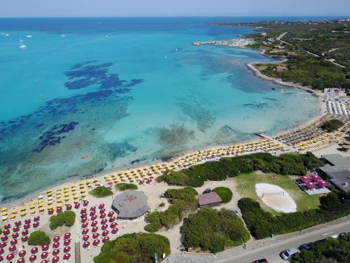 A bird's-eye view of Club Esse Roccaruja