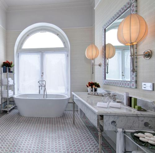 A bathroom at The Balmoral Hotel
