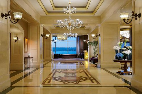 The lobby or reception area at The Ritz-Carlton, Istanbul at the Bosphorus