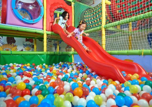 De kidsclub van PARKROYAL Penang Resort