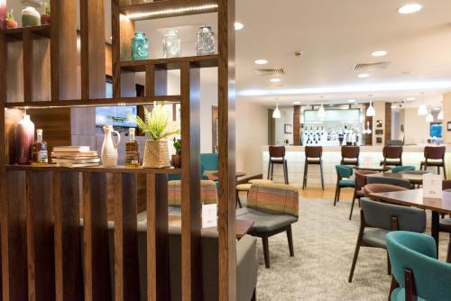The lobby or reception area at Hampton by Hilton Birmingham Jewellery Quarter