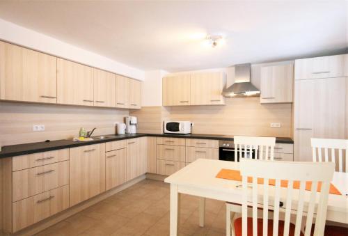 Küche/Küchenzeile in der Unterkunft Ferienwohnung Alpenrose