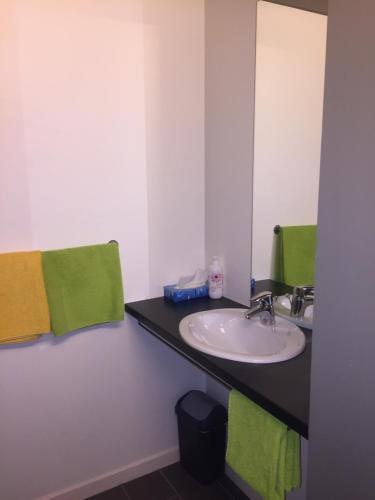 A bathroom at FunKey Hotel