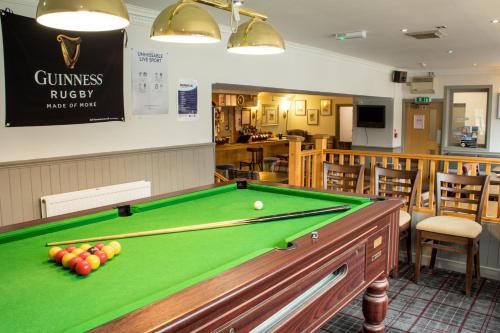 A pool table at Kyle Hotel 'A Bespoke Hotel'