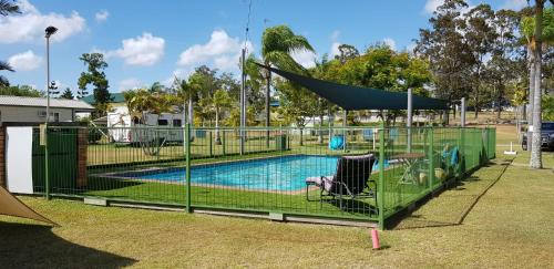 The swimming pool at or near Maryborough Caravan & Tourist Park