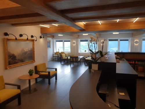 En restaurant eller et spisested på Pyntaberget Hotell