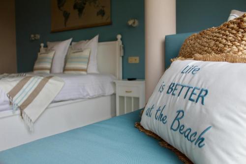 Een bed of bedden in een kamer bij B&B Villa Verde