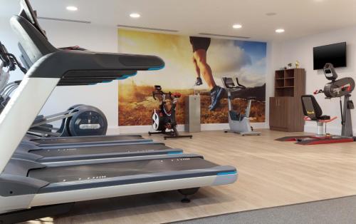 Palestra o centro fitness di Hampton By Hilton Edinburgh Airport
