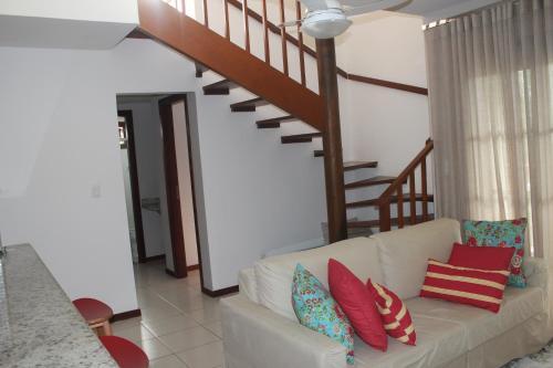 A seating area at Praia do Forte Luxuoso Village