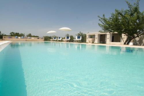 The swimming pool at or near TRULLO FALGHERO CON PISCINA PRIVATA