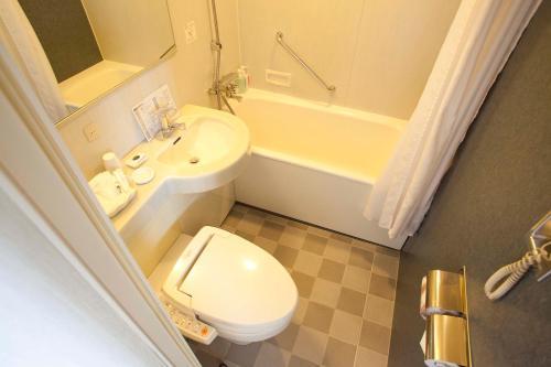 A bathroom at Hotel Grand Arc Hanzomon