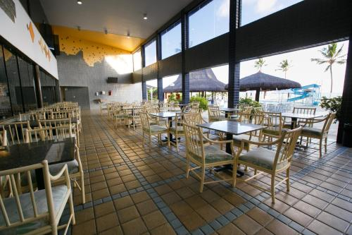 A restaurant or other place to eat at Hotel Canarius D'Gaibu