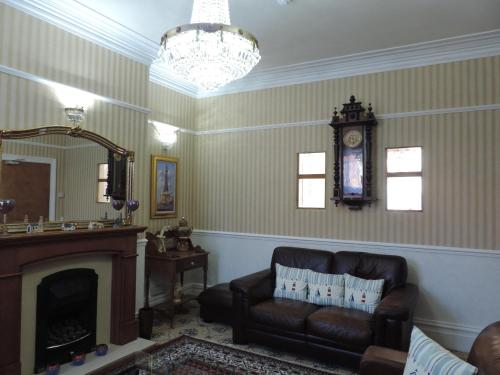 A seating area at The Draytonian