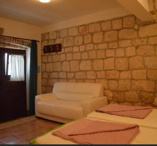 Area soggiorno di Apartmani Maria