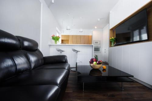 Część wypoczynkowa w obiekcie Apartament Rynek22