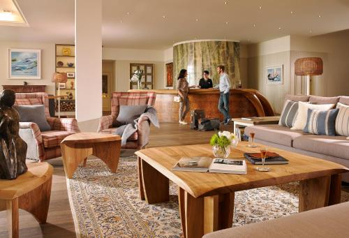 A restaurant or other place to eat at Inchydoney Island Lodge & Spa