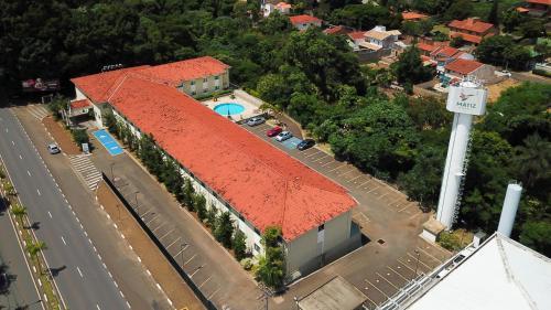 A bird's-eye view of Matiz Barão Geraldo Express Hotel