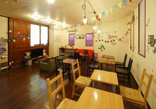 A restaurant or other place to eat at Osaka - Hotel / Vacation STAY 23784