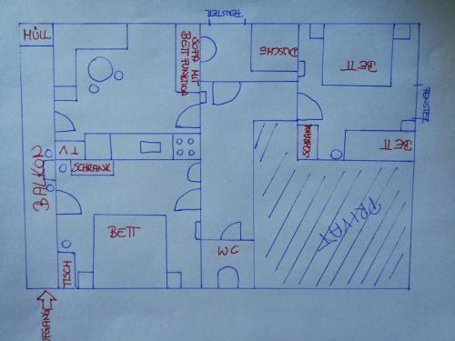 The floor plan of Sonnleitenhof