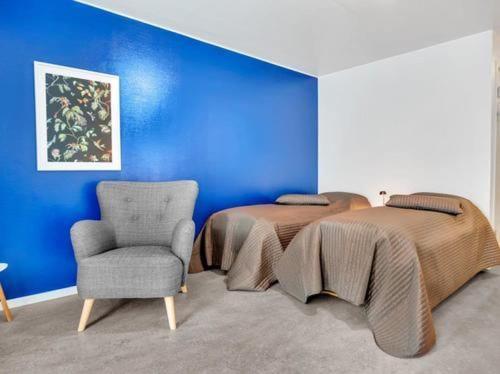 Część wypoczynkowa w obiekcie North of Lyngen Apartments AS
