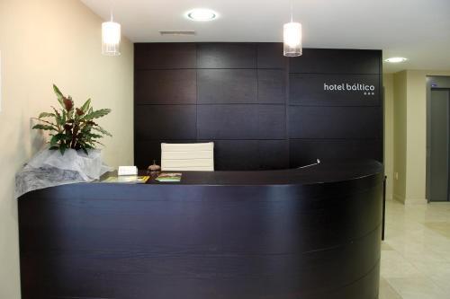 El vestíbulo o zona de recepción de Hotel Baltico