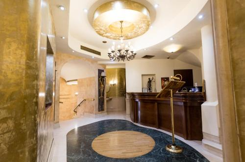 The lobby or reception area at Hotel Opera by Zeus International