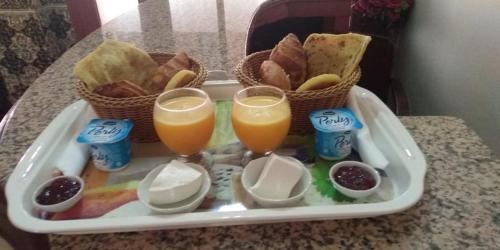 خيارات الإفطار المتوفرة للضيوف في FUENTES