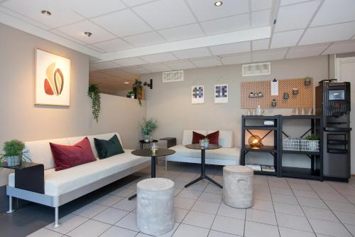 The lobby or reception area at Anker Apartment – Sentrum