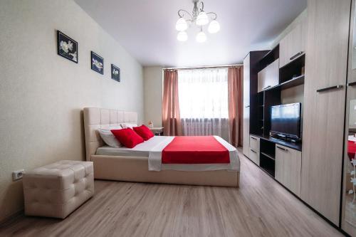 Гостиная зона в Apartment on Mira 2v1