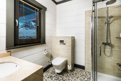 Łazienka w obiekcie Hot Springs Medical and SPA
