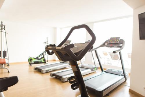 Fitnesscenter och/eller fitnessfaciliteter på Sentido Fido Punta del Mar Hotel & Spa - Adults Only